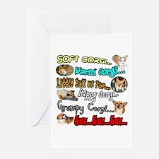 Soft Corgi Greeting Cards (Pk of 10)