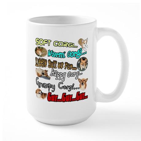 Soft Corgi Large Mug