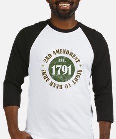 2nd Amendment Est. 1791 Baseball Jersey