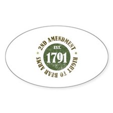 2nd Amendment Est. 1791 Decal