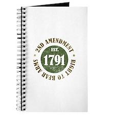 2nd Amendment Est. 1791 Journal