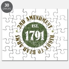 2nd Amendment Est. 1791 Puzzle