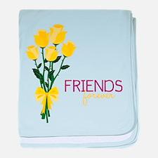 Friends Forever baby blanket