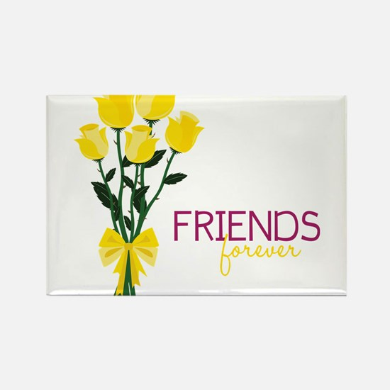 Friends Forever Rectangle Magnet