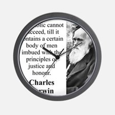 A Republic Cannot Succeed - Charles Darwin Wall Cl