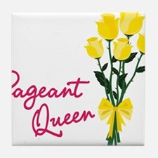 Pagent Queen Tile Coaster