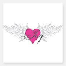 "My Sweet Angel Joy Square Car Magnet 3"" x 3"""