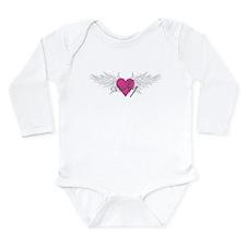 My Sweet Angel Joy Long Sleeve Infant Bodysuit