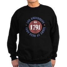 2nd Amendment Est. 1791 Sweatshirt