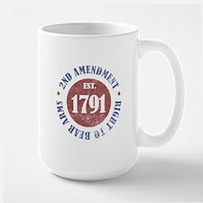 2nd Amendment Est. 1791 Mug