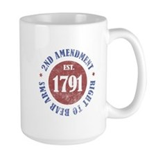 2nd Amendment Est. 1791 Mug