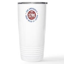 2nd Amendment Est. 1791 Travel Mug