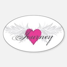 My Sweet Angel Journey Sticker (Oval)