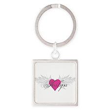 My Sweet Angel Joslyn Square Keychain