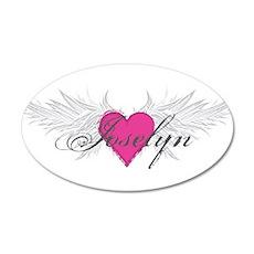 My Sweet Angel Joselyn 35x21 Oval Wall Decal