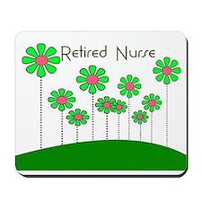 Retired Nurse Pillow 6 Mousepad