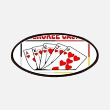 """CHEROKEE CASINO - """"We're Proud To Be #1"""" Patches"""