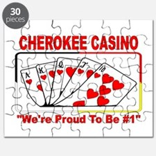 """CHEROKEE CASINO - """"We're Proud To Be #1"""" Puzzle"""