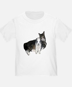 cute kitty and puppyToddler T-Shirt