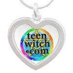 TeenWitch.com Silver Heart Necklace