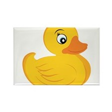 Rubber Ducky Rectangle Magnet