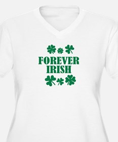Forever Irish green shamrocks T-Shirt