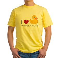 Love Rubber Ducks T