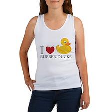 Love Rubber Ducks Women's Tank Top