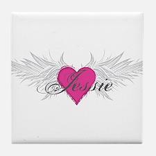 My Sweet Angel Jessie Tile Coaster