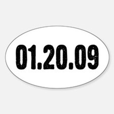 01.20.09 Oval Decal
