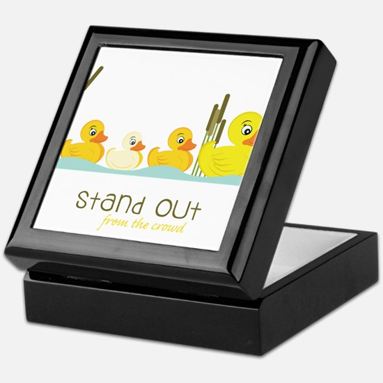 Stand Out Keepsake Box