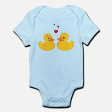 Love Ducks Infant Bodysuit
