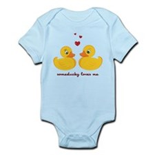 Someducky Loves Me Infant Bodysuit