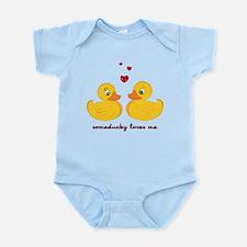 Someducky Loves Me Infant Bodysuit