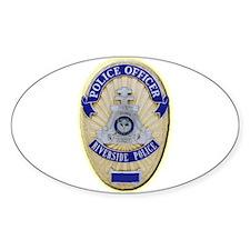 Riverside Police Officer Decal