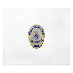 Riverside Police Officer King Duvet