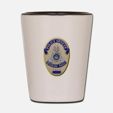 Riverside Police Officer Shot Glass