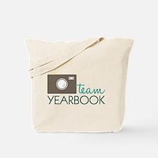 Team Yearbook Tote Bag