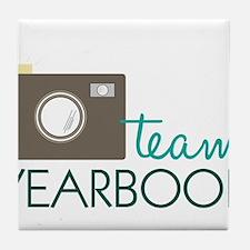 Team Yearbook Tile Coaster