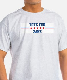 Vote for ZANE Ash Grey T-Shirt