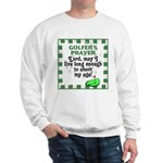 Top 10 Golf #8 Sweatshirt