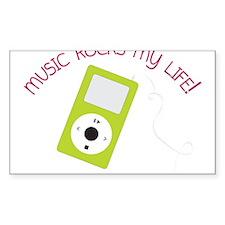 Music Rocks Decal