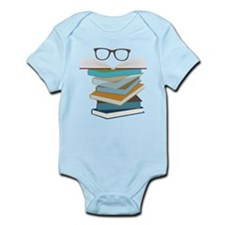 Stack Of Books Infant Bodysuit