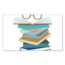 Stack Of Books Decal