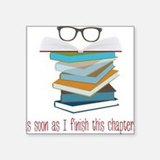 """This Chapter Square Sticker 3"""" x 3"""""""