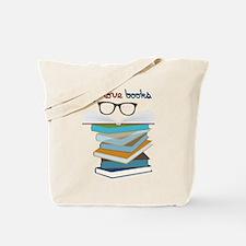 Eye Love Books Tote Bag