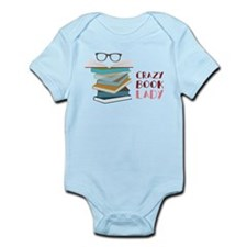Crazy Book Lady Infant Bodysuit