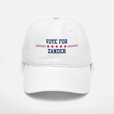 Vote for ZANDER Baseball Baseball Cap