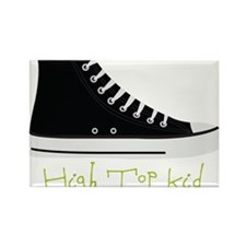 High Top Kid Rectangle Magnet