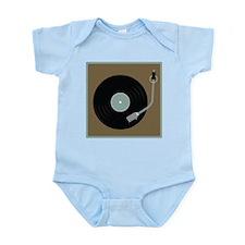 Record Player Infant Bodysuit